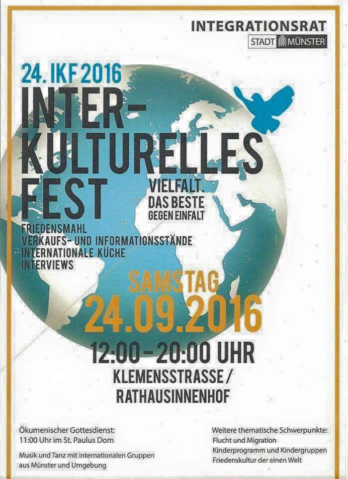 Interkulturelles Fest: Plakat