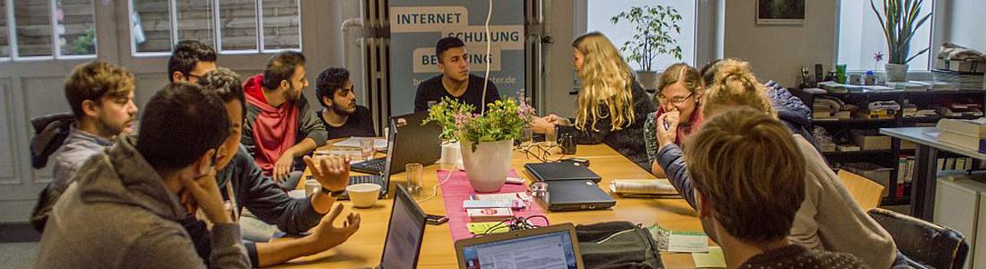 Das WelcomeCafe Münster (Foto: Welcome Münster)