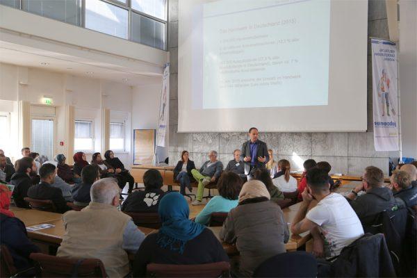Info-Reihe für Zugewanderte (Foto: Stadt Münster)