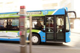 Busfahren in Münster (Foto: Benedikt Niederschmid)
