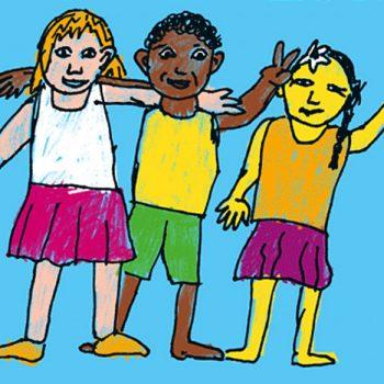 Das Plakat zum Weltkindertag.