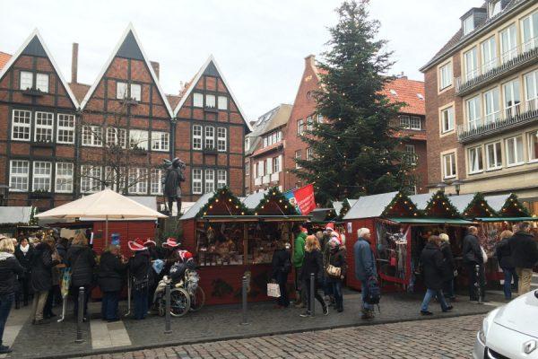 Münster Weihnachtsmarkt öffnungszeiten.Weihnachtsmarkt Münster Fünf Märkte Starten Am 27 November 2017