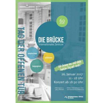 """60 Jahre """"Die Brücke""""-Plakat"""