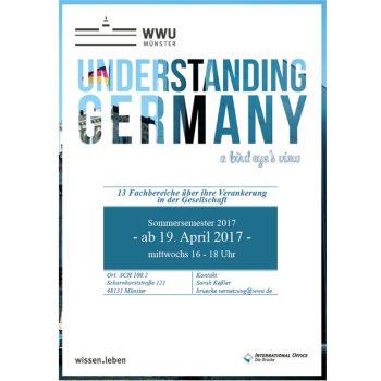 """Plakat: """"Understanding Germany"""""""
