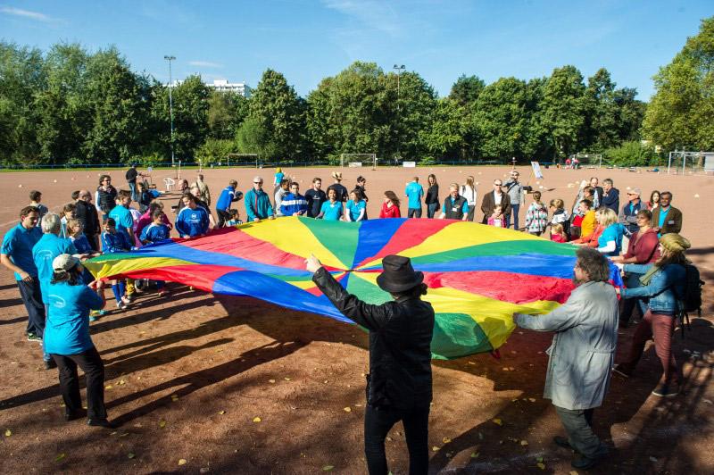 Integration durch Sport (Foto: LSB NRW / Foto: Andrea Bowinkelmann)