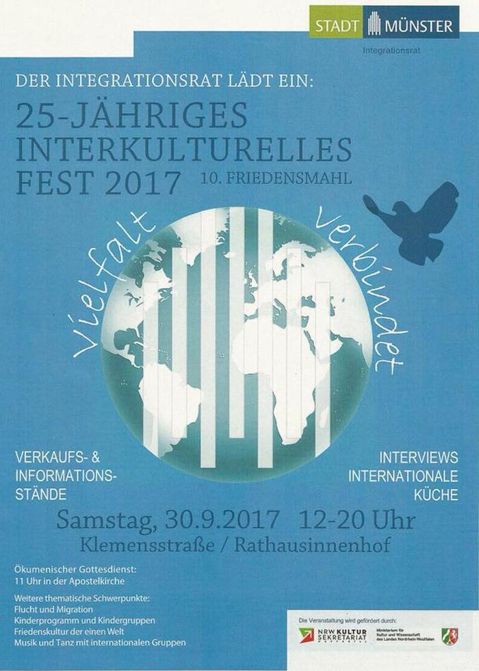 "Plakat ""Interkulturelles Fest 2017"""