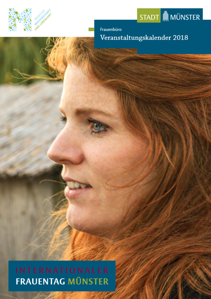Flyer: Programm Internationaler Frauentag