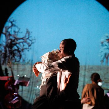 Silmandé vom interkulturellen Theater Hajusom (Foto: Arnold Morascher)