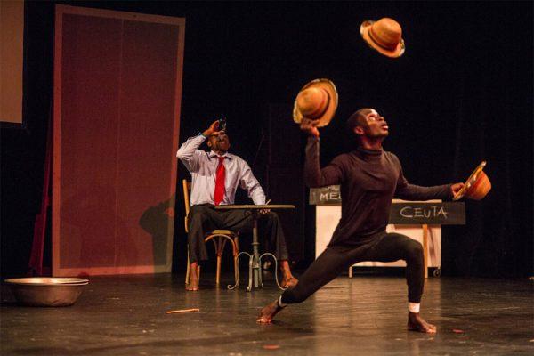 Tanztheater mit dem Tete Adehyemma Dance Theatre (Ghana)