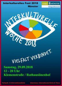 "Plakat ""Interkulturelles Fest"""