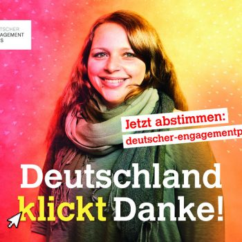 Websticker: Deutscher Engagementpreis