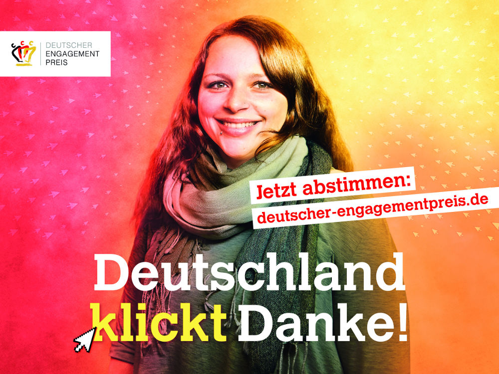 Websticker: Deutscher Engagementpreis
