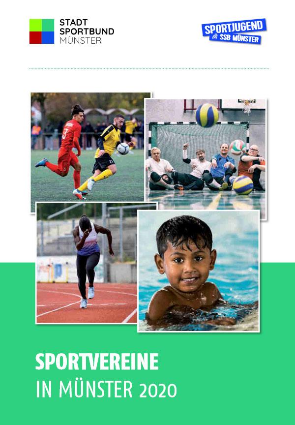 """Titelblatt der Broschüre """"Sportvereine in Münster"""""""